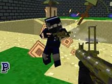 Combat Pixel Arena: 3D