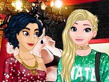 Princesses Hit 3 Parties a Night