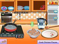 Sara's Cooking Class: Rice & Chicken
