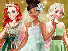 Princess Spring Green Wedding