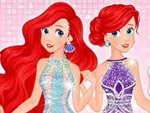 Ariel Mermaid Dress Design