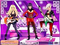 Girl Rock Band Dress Up