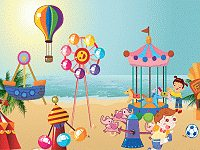 Beach Amusement Park
