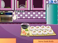 Sara's Cooking Class California Rolls
