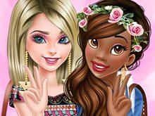 Princesses Become BFFs