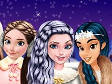 Princesses Go Ice Skating