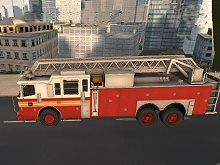 Fire Truck City Driving Sim