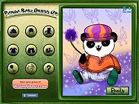 Baby Panda Dress Up