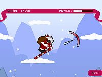 Santa Ski Jump