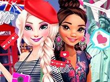 Princesses Travel Diaries: Town Break