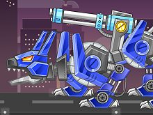 Toy War Angry Robot Dog