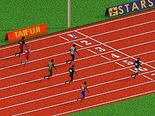 100 metres race