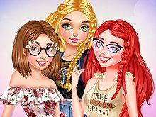 Princesses Summer Touch
