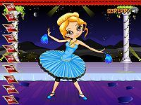 Dance Girl Dressup