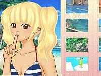 Shoujo Manga Avatar Creator: Summer Time