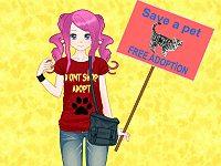 Anime Animal Lover
