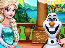 Olaf Swimming Poo