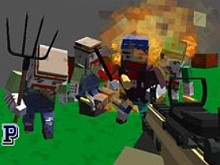 Cube Arena Zombie Warfare