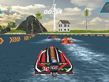 Speedboat Racing WebGL