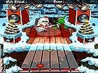 Santa Rockstar Metal Christmas